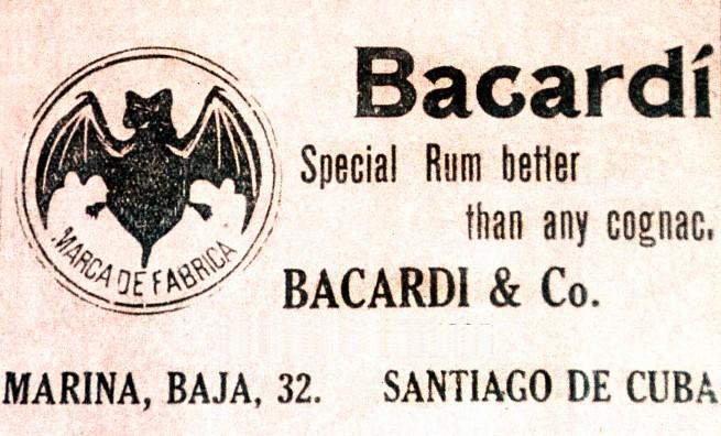 Bacardi Vintage Ad