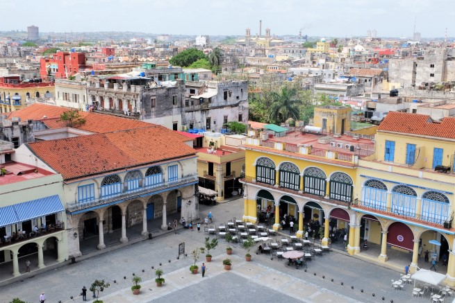Havana Gezisi, Plaza Vieja