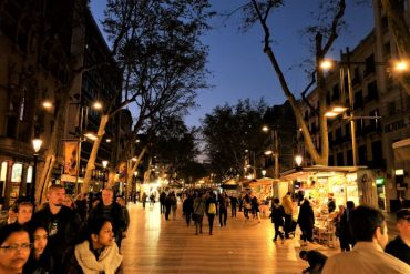 La Rambla Barselona