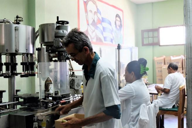 Küba rom fabrikası (2)