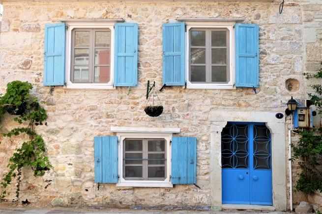 Foça taş evleri