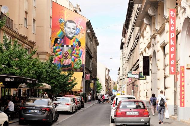 Budapeşte Sokak Sanatı