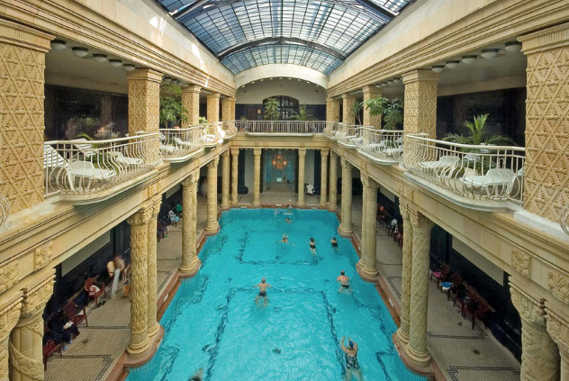 Gellert Bath Budapest