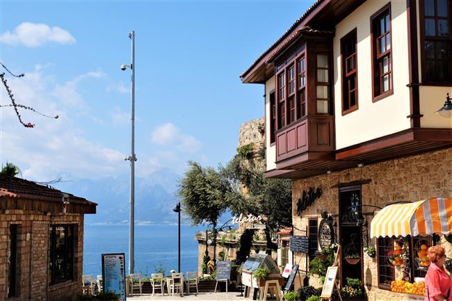 Antalya Kaleiçi Sokaklar (1)