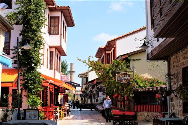 Antalya Kaleiçi Sokaklar (2)