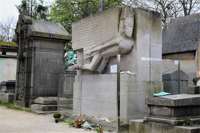 Oscar Wilde'ın Mezarı