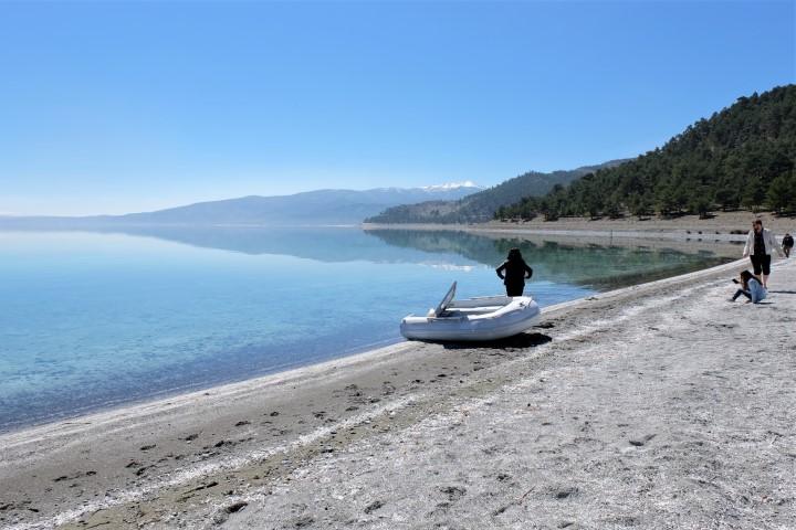 Doğanbaba Plajı Salda Gölü