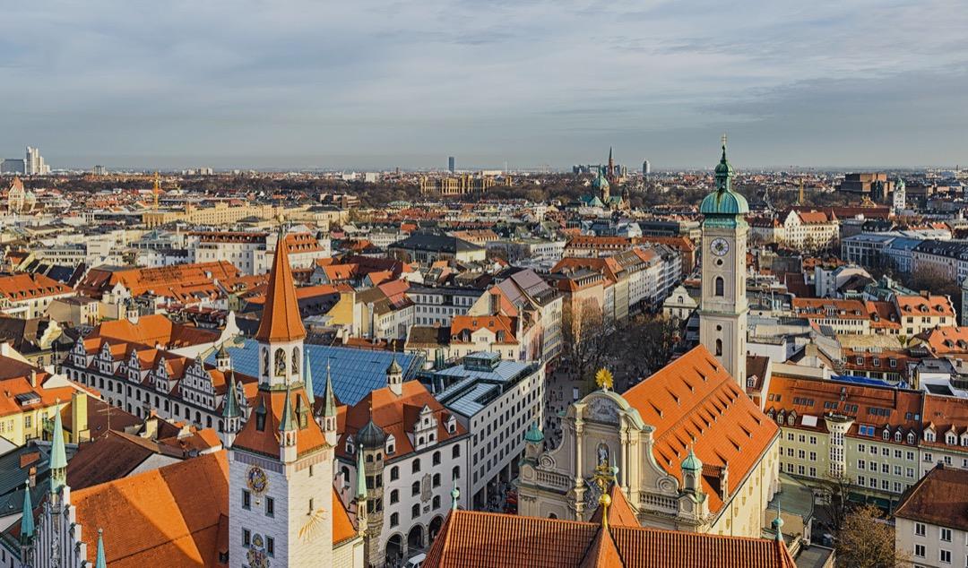 Munich'te Erasmus