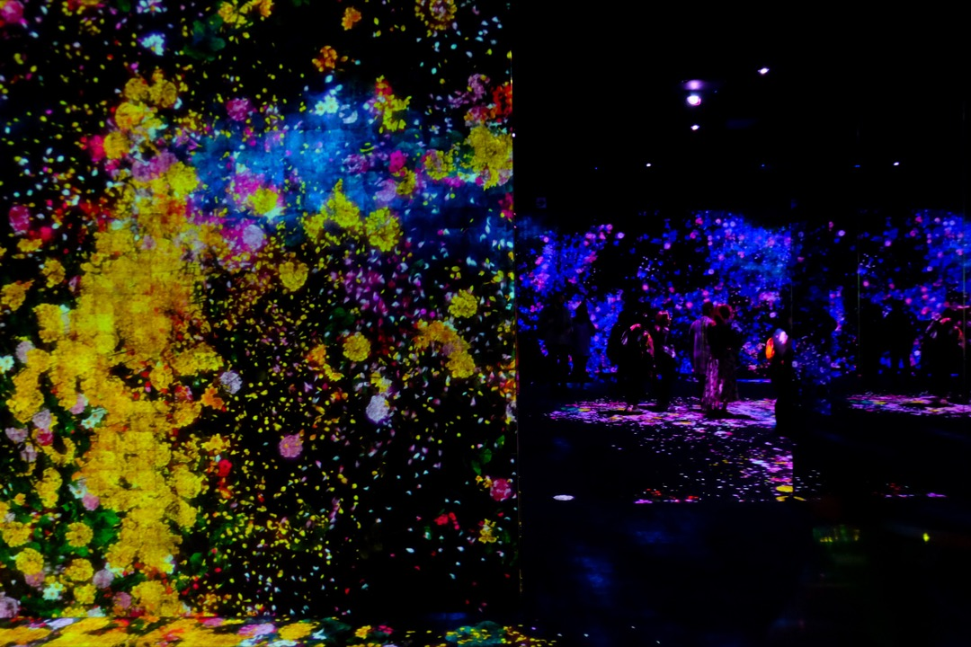 Teamlab borderless museum
