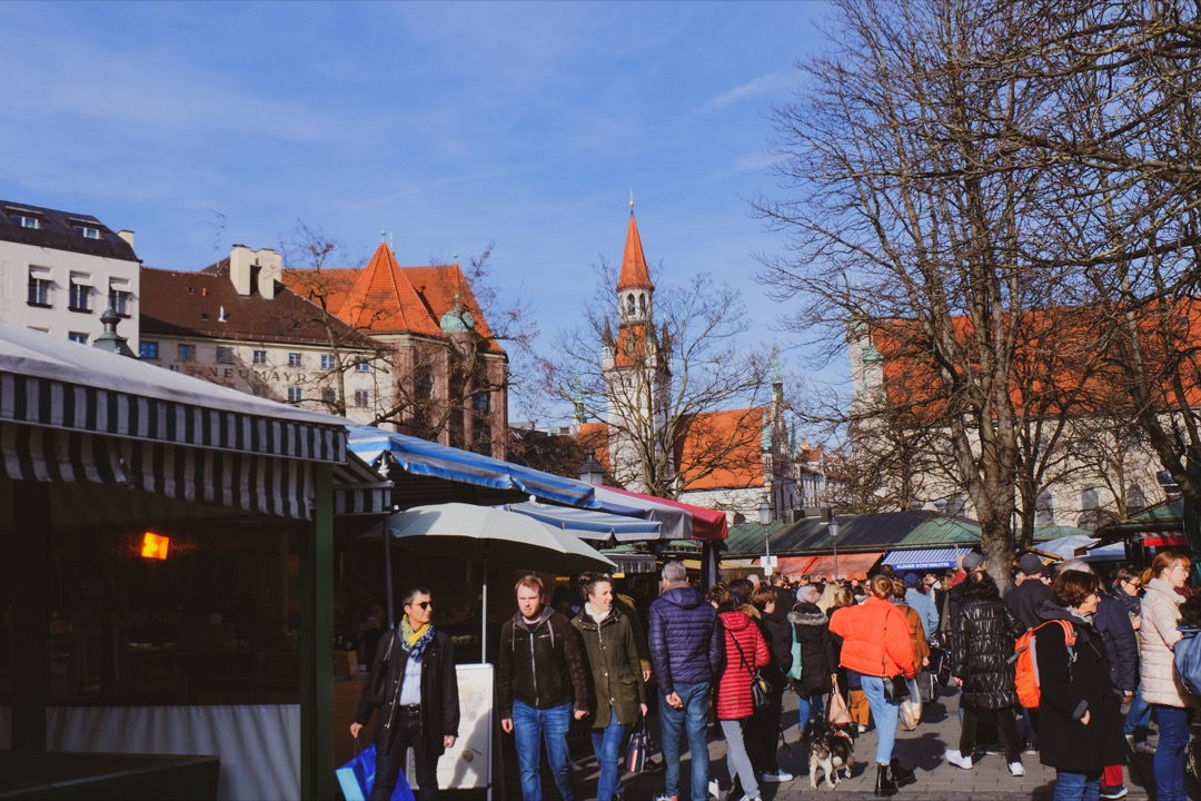 Viktualienmarkt Münih